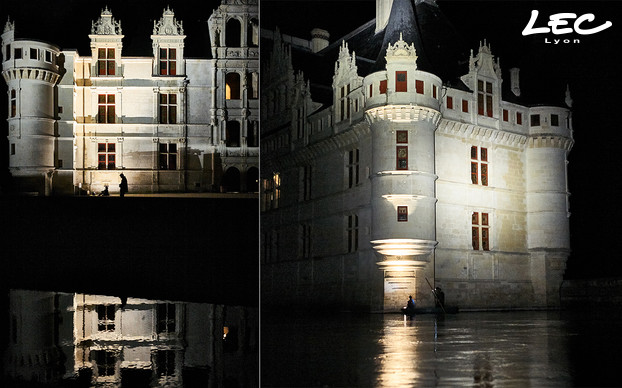 <p>Mock up pictures at the Château of Azay-le-Rideau</p>